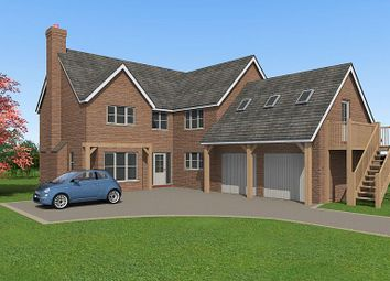 Thumbnail 5 bed detached house for sale in Plot 1, Shaw Park, Weston Lane, Oswestry, Shropshire
