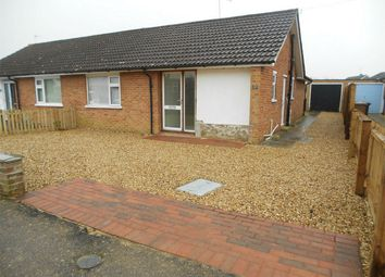 Thumbnail 2 bed semi-detached bungalow to rent in Berkeley Road, Peterborough, Cambridgeshire