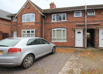 Thumbnail 3 bedroom terraced house to rent in Broadway West, Walsall