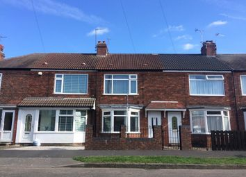 Thumbnail 2 bedroom terraced house for sale in Brooklands Road, Spring Bank West, Hull
