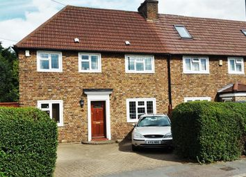 Thumbnail 3 bedroom end terrace house for sale in Culvers Way, Carshalton, Surrey