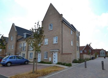 Thumbnail 4 bed end terrace house for sale in Buttercup Avenue, Eynesbury, St Neots, Cambridgeshire