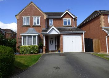 Thumbnail 4 bed detached house for sale in Cheriton Close, Daventry