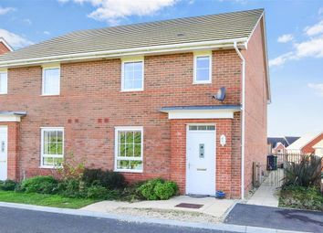 Thumbnail 3 bedroom semi-detached house for sale in Saxon Close, Newport, Isle Of Wight