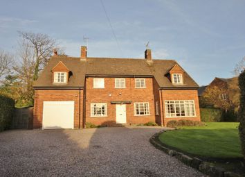 Thumbnail 4 bed detached house for sale in Rectory Lane, Lower Heswall, Wirral