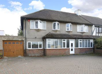 Thumbnail 6 bed semi-detached house for sale in Little Woodcote Lane, Purley, Surrey