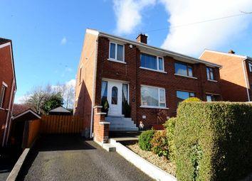Thumbnail 3 bed semi-detached house for sale in Mount Regan Avenue, Dundonald, Belfast