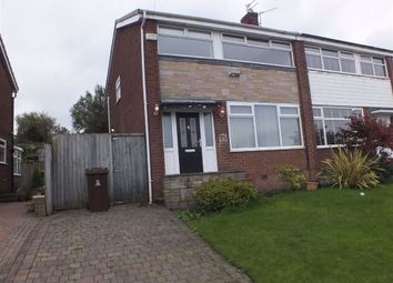 Thumbnail 3 bed semi-detached house to rent in Fir Tree Crescent, Dukinfield