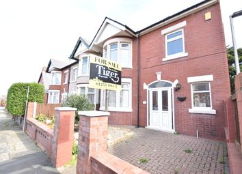 Thumbnail 3 bed end terrace house for sale in Leicester Road, Blackpool