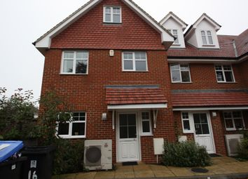 Thumbnail 3 bed terraced house to rent in Loxley Close, Byfleet, West Byfleet