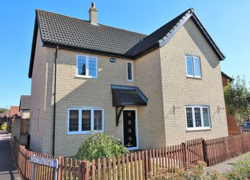 Thumbnail 4 bed detached house for sale in Wheatcroft Way, Dereham