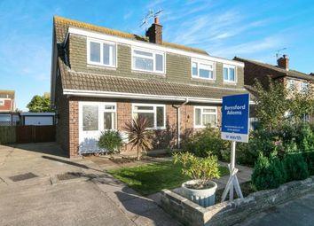 Thumbnail 3 bed semi-detached house for sale in Windermere Drive, Prestatyn, Denbighshire, .