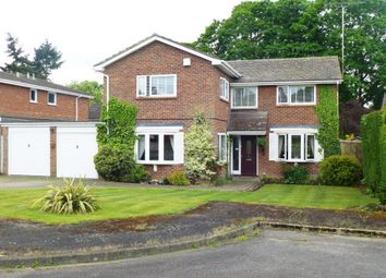 Thumbnail 5 bed detached house for sale in Churchill Close, Hartley Wintney, Hook