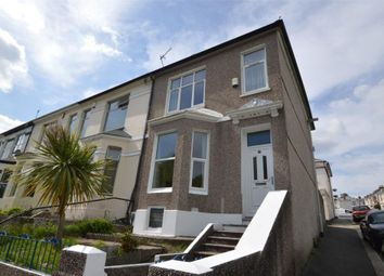Thumbnail 3 bed end terrace house to rent in South View Terrace, Plymouth, Devon