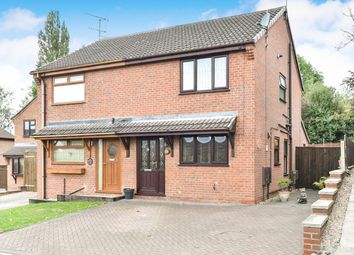 Thumbnail 3 bed semi-detached house for sale in Brookfield Close, Codnor, Ripley