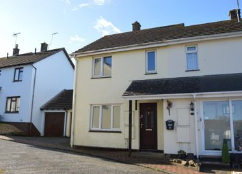 Thumbnail 3 bed end terrace house for sale in Butts Way, North Tawton, Devon