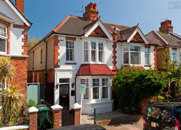 Thumbnail 3 bed semi-detached house for sale in Worcester Villas, Hove
