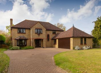 Thumbnail 5 bed detached house for sale in Hay Street, Steeple Morden, Royston