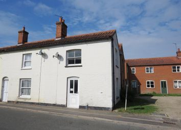 Thumbnail 2 bed end terrace house for sale in Reepham Road, Bawdeswell, Dereham