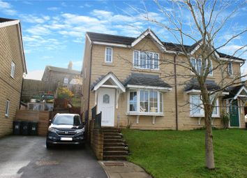 Thumbnail 3 bed semi-detached house for sale in Steadings Way, Keighley, West Yorkshire