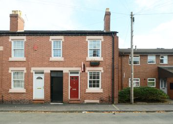 Thumbnail 2 bed terraced house to rent in Cemetery Road, Newcastle Under Lyme, Staffordshire