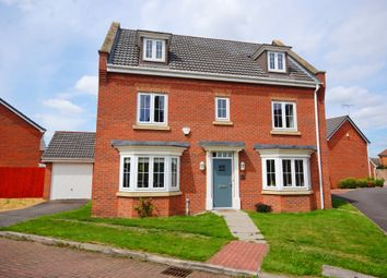 Thumbnail 5 bed detached house for sale in Augustus Close, North Hykeham, Lincoln