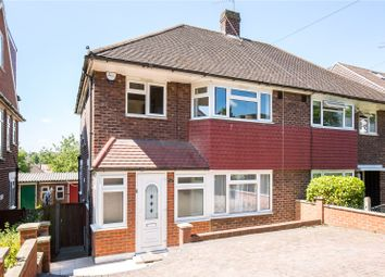 Thumbnail 3 bed semi-detached house for sale in Abbotshall Avenue, Southgate, London