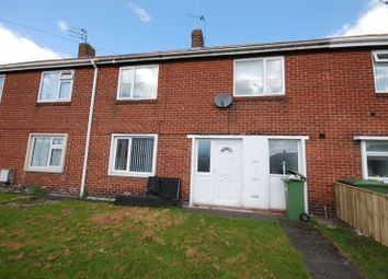Thumbnail 2 bed terraced house for sale in Chillingham Crescent, Ashington