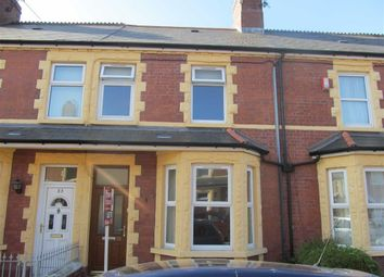 Thumbnail 3 bed terraced house to rent in Bendrick Road, Barry, Vale Of Glamorgan