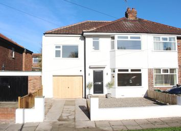 Thumbnail 4 bed semi-detached house for sale in Meadowfields Drive, York