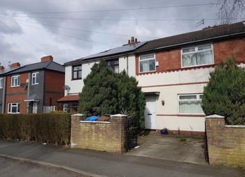 Thumbnail 3 bed terraced house for sale in Whitchurch Road, Manchester, Greater Manchester, Uk