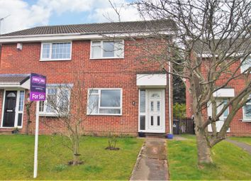 Thumbnail 2 bed semi-detached house for sale in Bramley Grange Crescent, Bramley, Rotherham