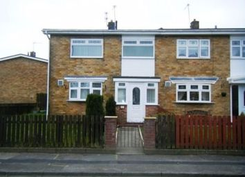 Thumbnail 3 bed terraced house to rent in Coach Road Estate, Washington