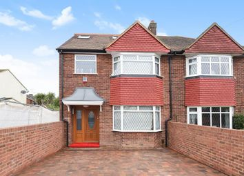 Thumbnail 4 bed semi-detached house for sale in Groveley Road, Sunbury-On-Thames