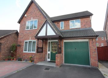 Thumbnail 4 bed detached house for sale in Oakcroft Way, Manchester