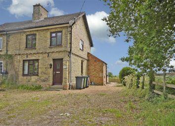 Thumbnail Semi-detached house for sale in Hill Farm Cottage, Toll Bar Lane, Keyston, Cambridgeshire