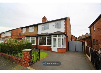 Thumbnail 3 bed semi-detached house to rent in Egerton Road South, Manchester