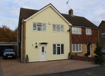 Thumbnail 3 bed semi-detached house for sale in Holmoaks, Rainham, Kent