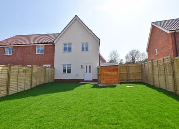3 bed end terrace house to rent in Lutyens Drive, Overstrand, Cromer NR27