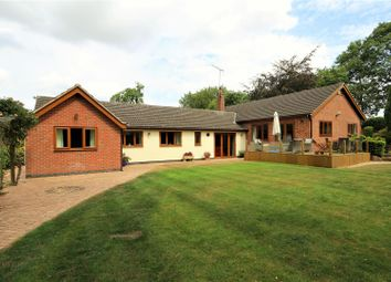 Thumbnail 4 bed detached bungalow for sale in Lower Brand, Griffydam, Coalville