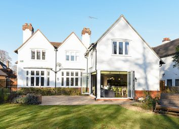 Thumbnail 5 bed detached house to rent in Highfield Road, West Byfleet