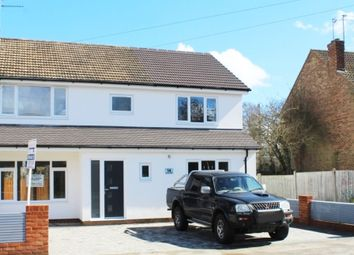 Thumbnail 4 bedroom semi-detached house for sale in Tolmers Road, Cuffley, Potters Bar