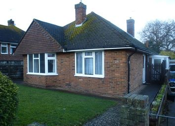 Thumbnail 2 bed detached bungalow to rent in Deans Drive, Bexhill On Sea