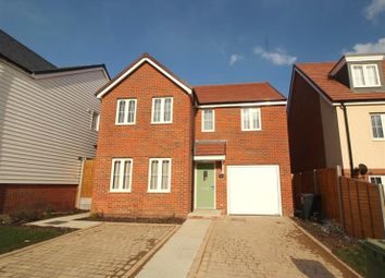 Thumbnail 4 bed detached house for sale in Wood Sage Way, Stone Cross, Pevensey