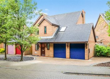 Thumbnail 4 bed detached house for sale in Bickleigh Crescent, Furzton, Milton Keynes, Bucks
