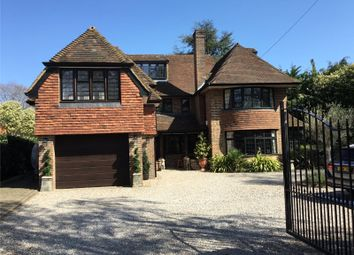 Thumbnail 6 bed detached house for sale in Harebell Hill, Cobham, Surrey