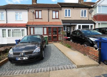 Thumbnail 3 bed terraced house to rent in Palmerston Road, Grays