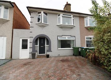Thumbnail 3 bed semi-detached house for sale in Bostall Park Avenue, Bexleyheath, Kent