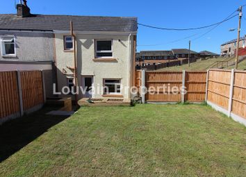 Thumbnail 2 bed end terrace house for sale in King Street, Tredegar, Blaenau Gwent.