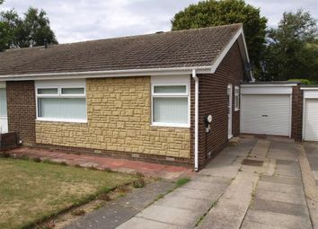Thumbnail 2 bed semi-detached bungalow for sale in Mirlaw Road, Cramlington